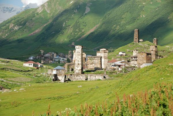 Uszguli, Swanetia Górna, Gruzja