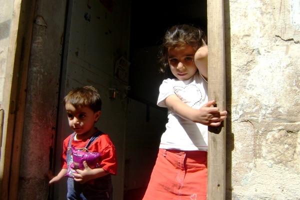 nasi przewodnicy po starym mieście w Mardin