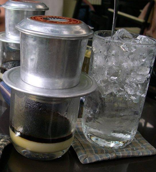 Ca phe sua da. Najlepszą na świecie kawę znajdziecie w Wietnamie.