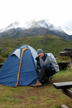 "Nowy ""dom"" w Torres del Paine"