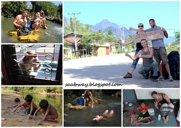 Off - road Laos, czyli poza cywilizacją.