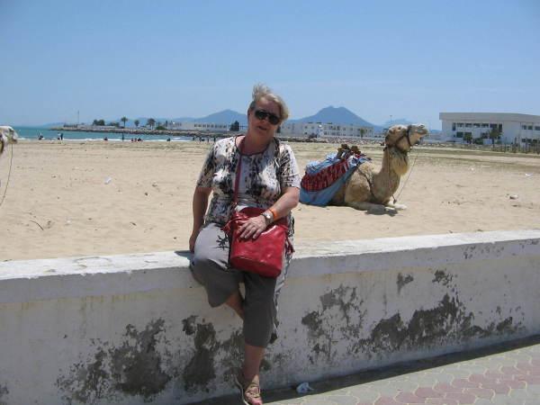 Sidi Bou Said – odpoczynek przy plaży