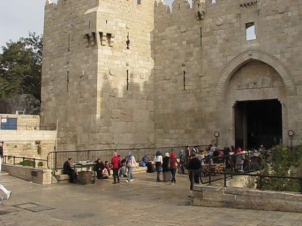 Brama Damasceńska, Jerozolima, Izrael