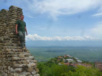 Widoki na niesamowity region Kachetii.