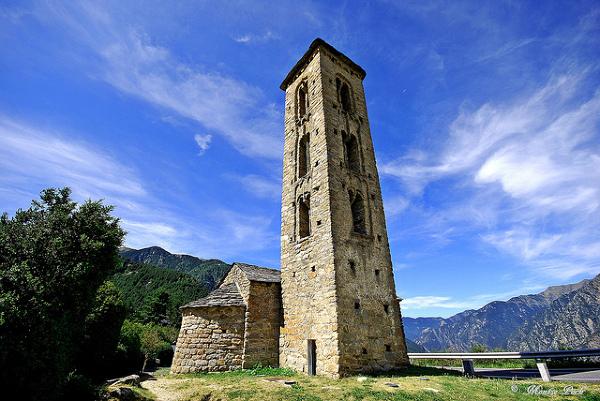 Kościół Sant Miquel d'Engolasters.