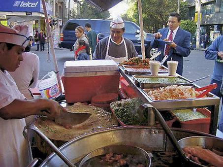 Meksykański street food