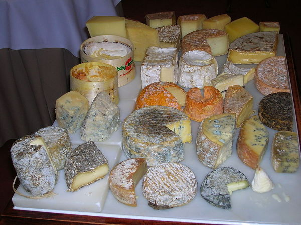 U Gordona Ramseya ogromny wybór serów z całego świata.