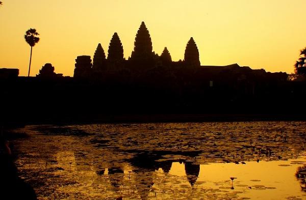 Ankor Wat Kambodża