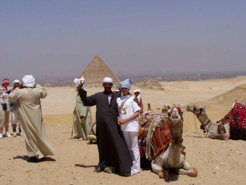 Nasz kairski przewodnik Mohammed