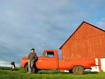 Typowa farma w Vermont, można tam odpocząć od hałasu wielkich miast.
