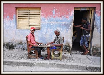 Narodowa rozrywka Kubańczyków - domino