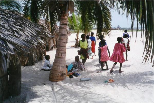 Gambijska linia brzegowa ma zaledwie 80 km długości. Nie brakuje jednak na niej rewelacyjnych plaż