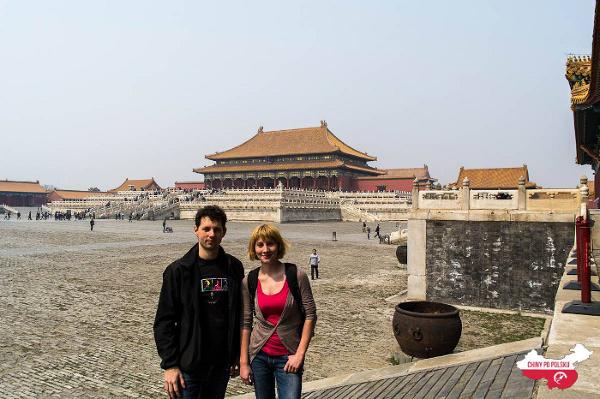 Martyna i Mateuszu w Pekinie, gdzie zaczynają swoją przygodę z Państwem Środka