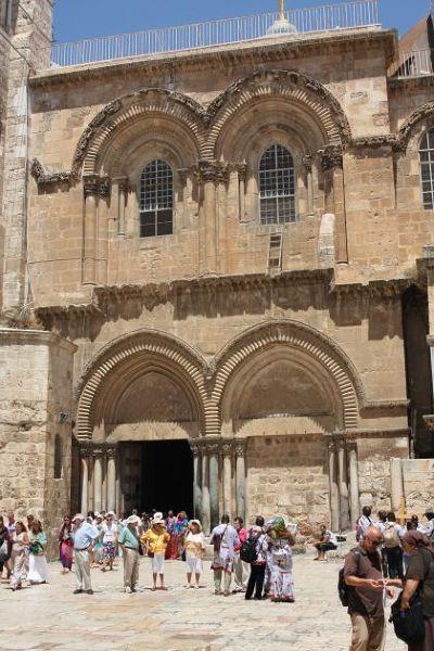 Fasada Bazyliki Zmartwychwstania