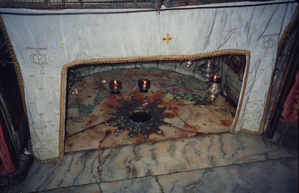 Betlejem - Grota Narodzenia - miejsce narodzin Pana Jezusa