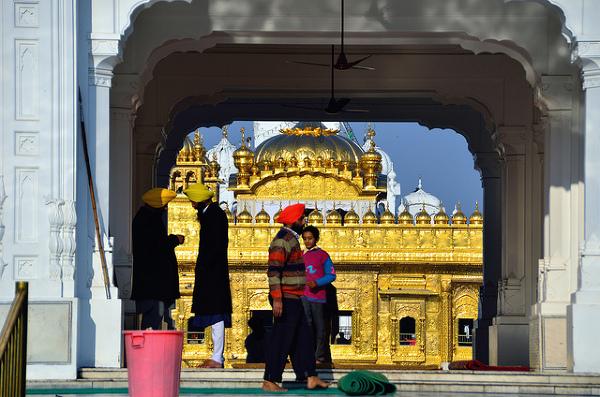Wejście do Złotej Świątyni