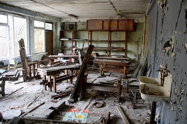 Pociągająca zona – Czarnobyl