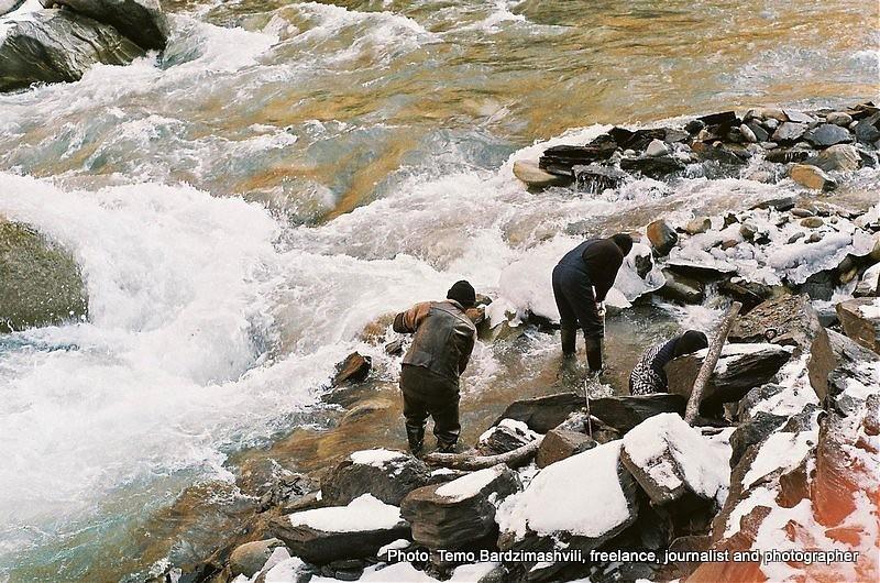 Złota rzeka Inguri – współcześni Argonauci