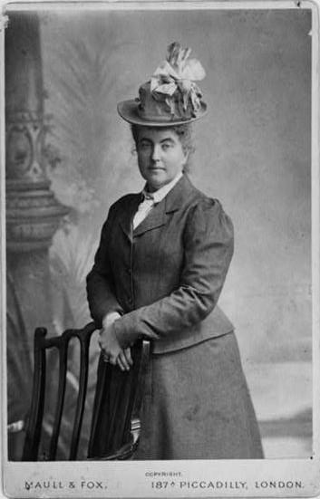 Fanny Bullock Workman w Londynie