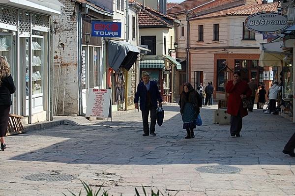 Skopje - dzielnica albańska