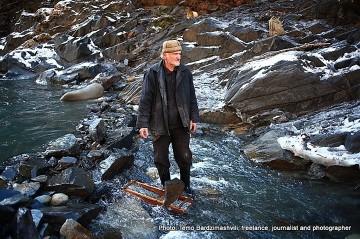 Złota rzeka Inguri