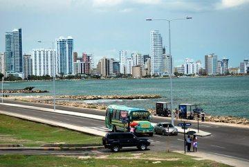 Biznesowa dzielnica Cartageny