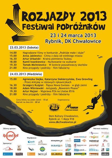 Program Festiwalu Rozjazdy