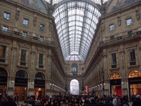 Galeria Vittorio Emanuel w Mediolanie