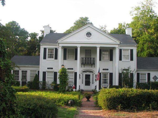 dom na  południu, Augusta, Georgia