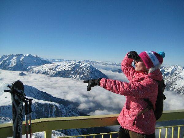 Widok na ulubione Alpy