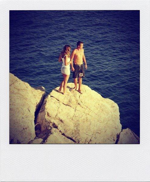 Spacer po północnym, kamienistym wybrzeżu Skiathos