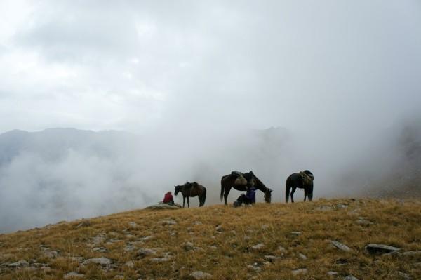 Azja, Kirgisyan. Zdjęcia z wyprawy pieszo-konno-autostopem.