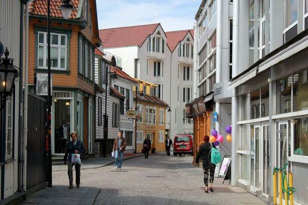 Stavanger i jego oblicza, nowe miasto…
