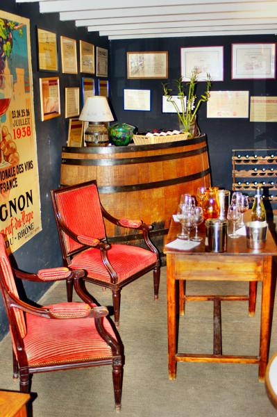 Rodzinne muzeum wina w Prowansji