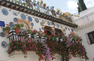 Cordoba - piękne patio, jedno z najbardziej charakterystycznych miejsc w mieście.