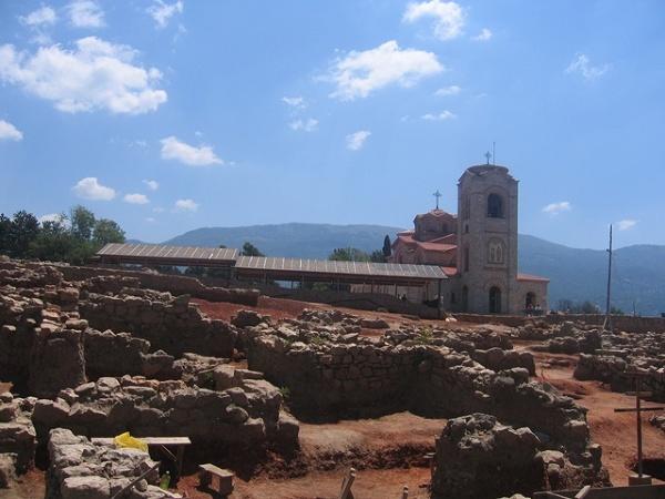 Ohryd, wykopaliska archeologiczne