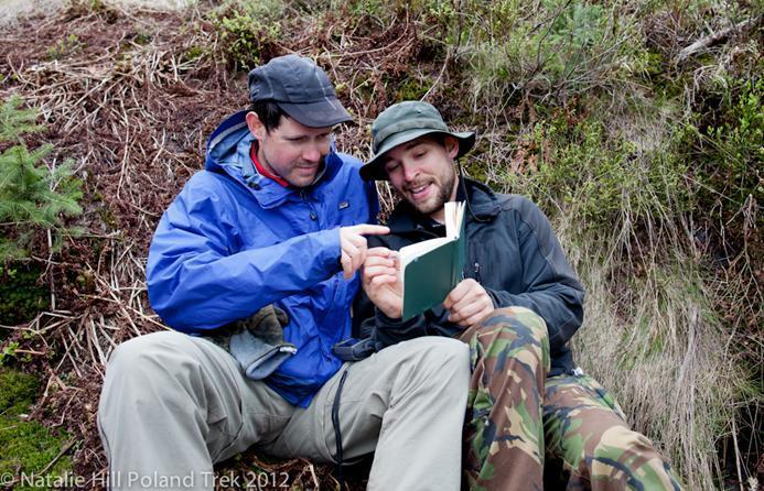 Louis-Phillipe Loncke z Tomkiem Grzywaczewskim, również podróżnikiem, który towarzyszył mu w trakcie I etapu wyprawy – w Tatrach