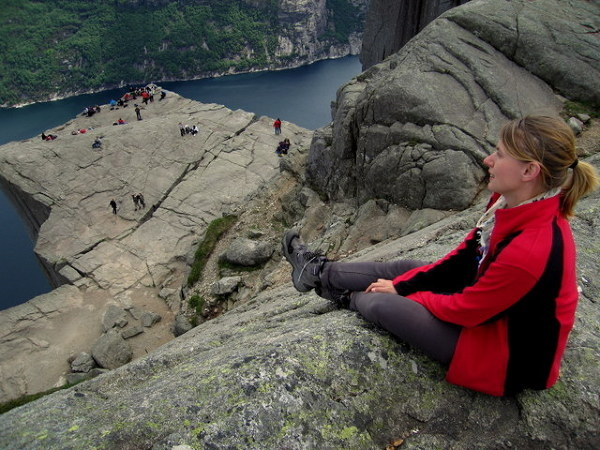 Preikestolen, The Pulpit Rock, Ambona, a dla mnie Raj!