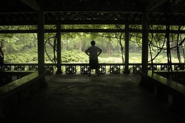 Azja, Chiny, Chengdu, Park Ludowy, Tai Chi