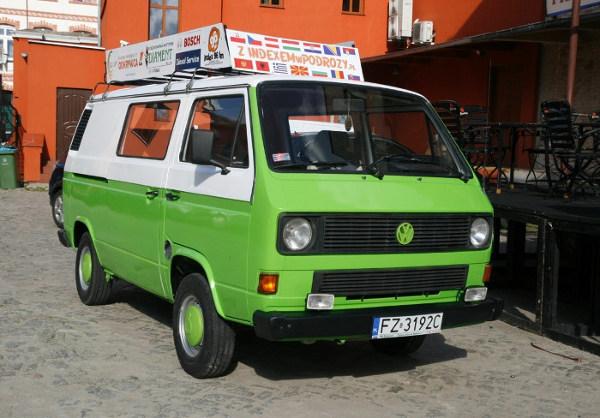 Środek transportu Maroko Trip, czyli 24-letni VW Transporter T3