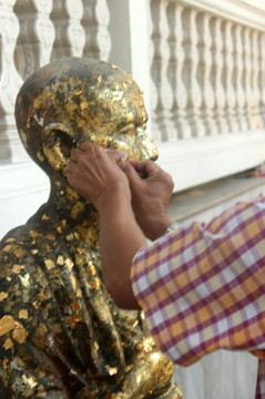 Buddyjska świątynia w Tajlandii.