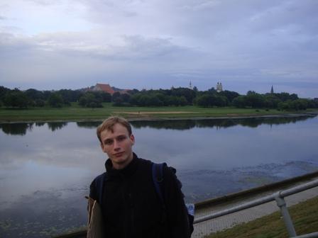 Jesteśmy pierwszy raz na Litwie!Kowno w tle:)