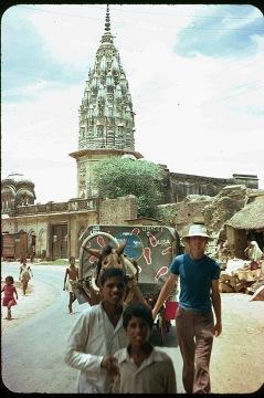 Dave w Indiach