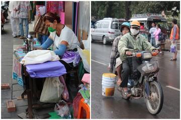 Życie na ulicach starego Bangkoku.
