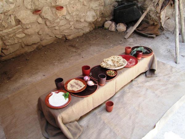 Tradycyjny posiłek, Nazareth, Izrael