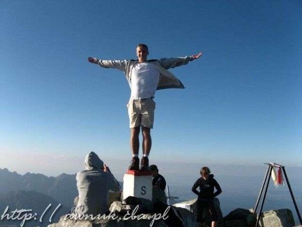 Na najwyższym szczycie Polski