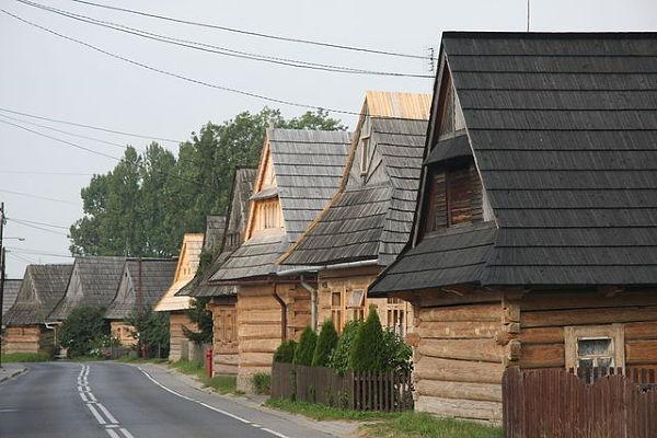 Drewniana architektura w Chochołowie