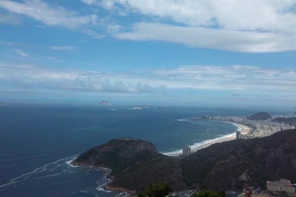 Rio de Janeiro – widok z Pão de Açúcar