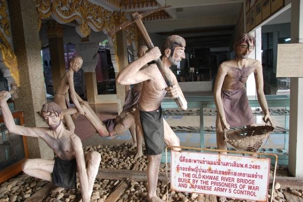 Kanchanaburii - Muzem Jeńców Wojennych