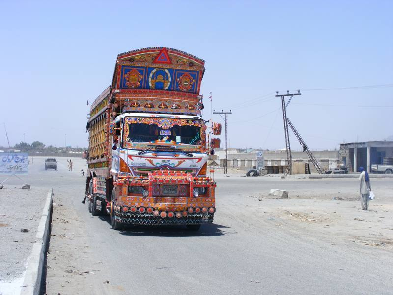 Pakistańska strona Beludżystanu, przygraniczne miasteczko Taftan, w którm na posterunku policji spędziłem dwa dni.